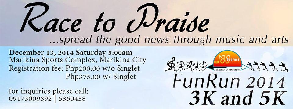 Race to Praise 2014 FunRun